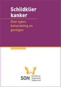 cover brochure schildklierkanker