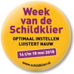 Button Week van de Schildklier 2018