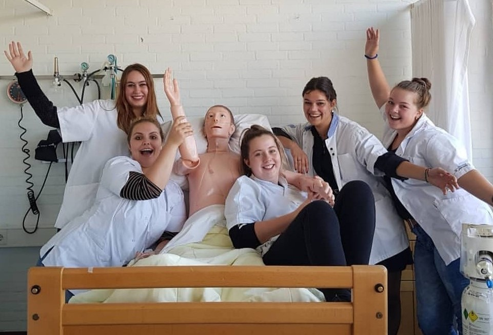 verpleegkundige na sponsoractie