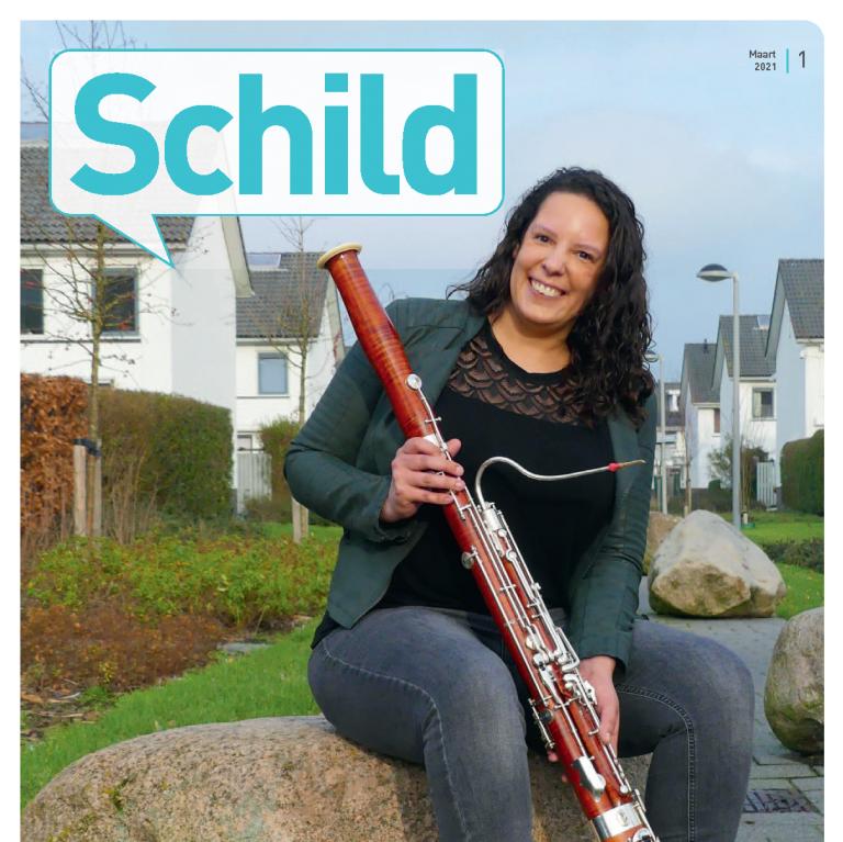 Cover Schild magazine 2021