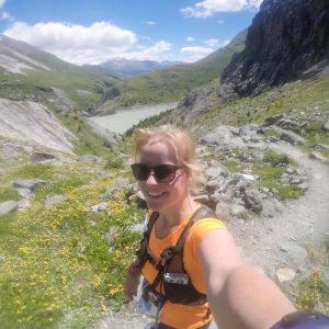 Liselotte in de Alpen